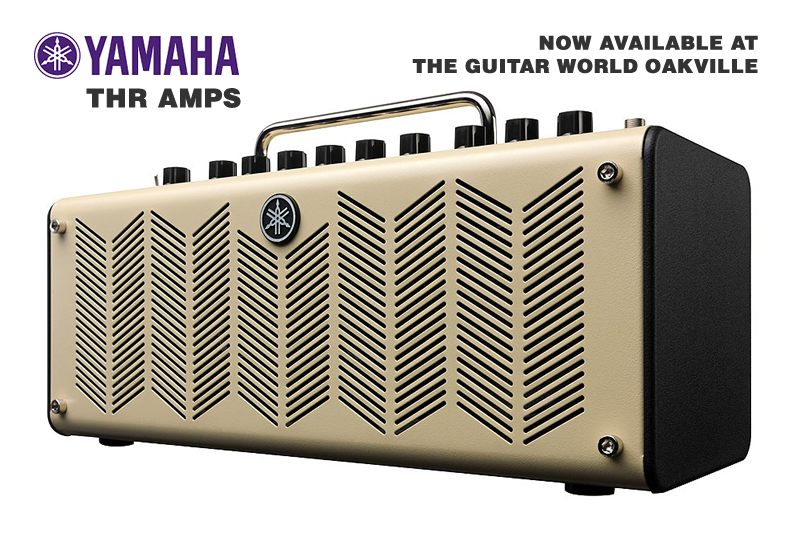 Yamaha THR Amps - Available now at The Guitar World Oakville
