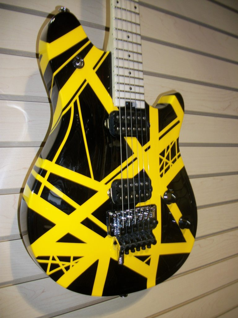 EVH Wolfgang Special Striped Blk & Yel $2099